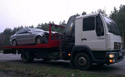 Эвакуация автомобилей на шоссе Энтузиастов