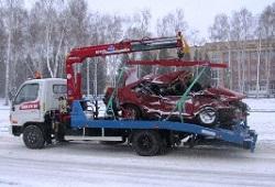 Эвакуация автомобиля на Минском шоссе